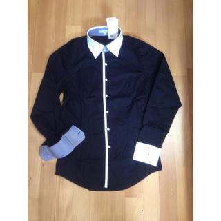 ナラカミーチェ(NARACAMICIE)の新品未使用☆ ナラカミーチェ ブラッククレリックシャツ(シャツ)