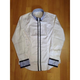 ナラカミーチェ(NARACAMICIE)の新品未使用☆ ナラカミーチェ ホワイトブルーシャツ(シャツ)