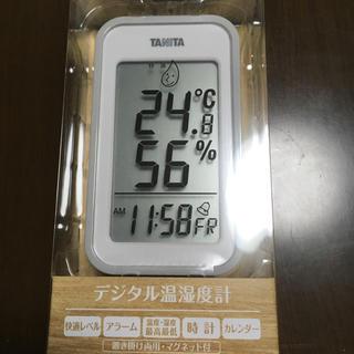 タニタ(TANITA)のTANITA タニタ デジタル温湿度計 TT-559 (置時計)