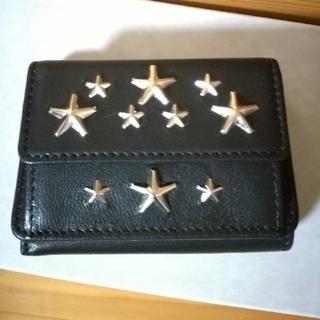 ジミーチュウ(JIMMY CHOO)のJIMMY CHOO☆スター☆Nemo 三つ折り財布 ミニ財布(財布)