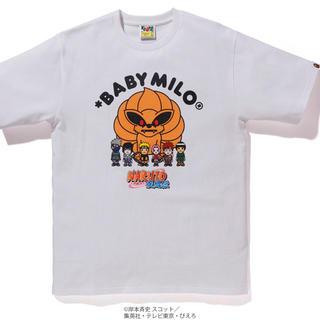 アベイシングエイプ(A BATHING APE)の【XL】bape x naruto(Tシャツ/カットソー(半袖/袖なし))