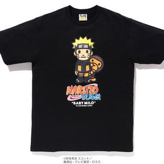 アベイシングエイプ(A BATHING APE)の【L】bape x naruto(Tシャツ/カットソー(半袖/袖なし))