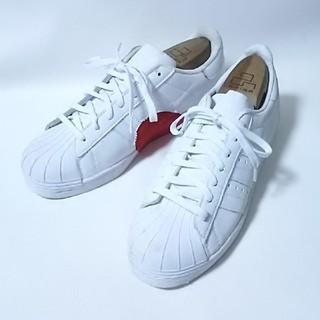アディダス(adidas)の 希少バレンタイン限定!アディダススーパースター80sレザースニーカー白   (スニーカー)