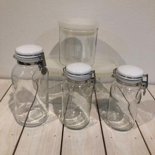 ムジルシリョウヒン(MUJI (無印良品))の無印の保存瓶(容器)