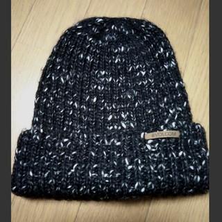 ボルコム(volcom)の【美品】volcom  ニット帽(ニット帽/ビーニー)