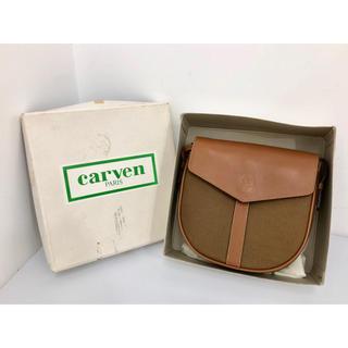 カルヴェン(CARVEN)のcarven カルヴェン 鞄 ショルダーバッグ ミニバッグ ブラウン 51(ショルダーバッグ)