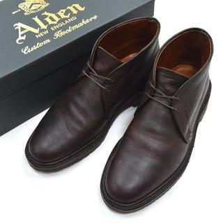 オールデン(Alden)のAlden 1272S KUDUレザー チャッカブーツ バリーラスト 24.5(ブーツ)