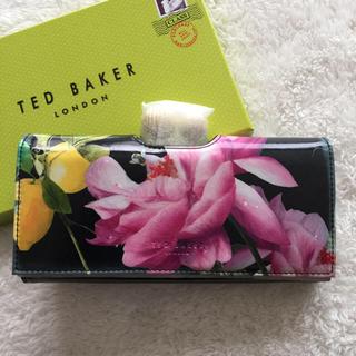 テッドベイカー(TED BAKER)のテッドベイカー✨新品.未使用✨ レザー シトラスブルームプリント 長財布(財布)