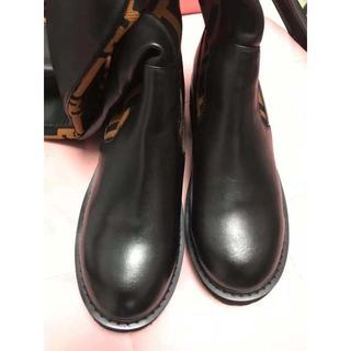 フェンディ(FENDI)のFENDIロングブーツ(レインブーツ/長靴)
