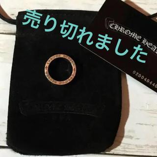 クロムハーツ(Chrome Hearts)のCHROME HEARTS☆6mmスペーサーリング20号 /US9☆美品(リング(指輪))