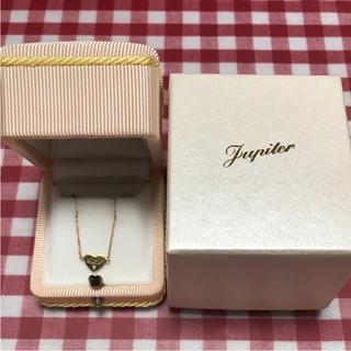 ジュピターゴールドレーベル(jupiter GOLD LABEL)の12月15日まで限定!!☆Jupiter K18ハートプレートネックレス☆(ネックレス)