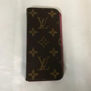 ルイヴィトン(LOUIS VUITTON)の本物ルイヴィトンLVモノグラムiphone6/6s携帯アイフォンスマホケース(モバイルケース/カバー)