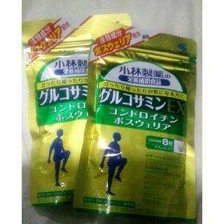 コバヤシセイヤク(小林製薬)の小林製薬の栄養補助食品 グルコサミンEX 30日分2袋(ビタミン)