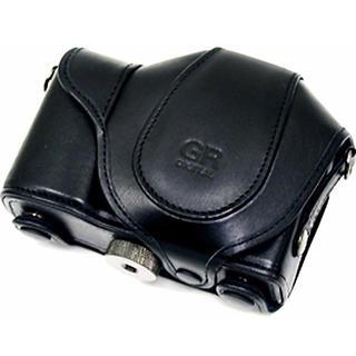 リコー(RICOH)のリコー RICOH GR デジタルカメラケース ブラック 革製(ケース/バッグ)
