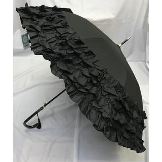 ゴスロリ必見  ボリュームたっぷりフリル傘  晴雨兼用長傘(傘)