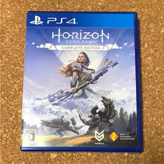 PlayStation4 - PS4 ホライゾンゼロ ドーン コンプリートエディション