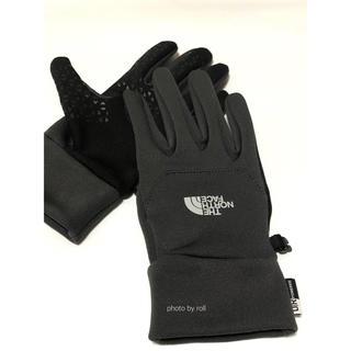 ザノースフェイス(THE NORTH FACE)の美品 ノースフェイス 手袋 イーチGV タッチスクリーン対応 Mサイズ(手袋)