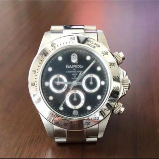 A BATHING APE - アベイシングエイプ  腕時計