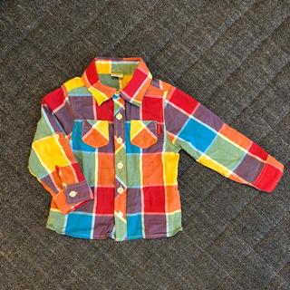 子供 シャツ サイズ90(ブラウス)