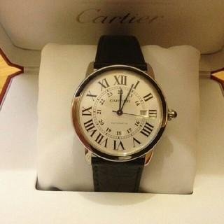 カルティエ  RONDE DE CARTIERシリーズW6701010