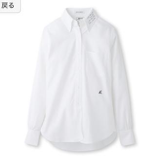 マディソンブルー(MADISONBLUE)の【MAEDA様 12/8迄 取置】MADISONBLUE 衿プリントシャツ(シャツ/ブラウス(長袖/七分))