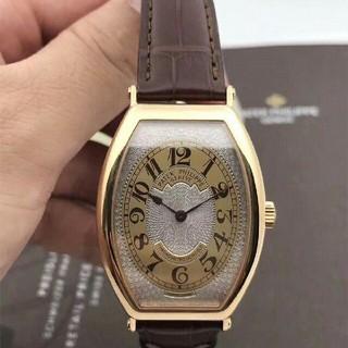 パテックフィリップ(PATEK PHILIPPE)のGONDOLOパテックフィリップローズゴールドマニュアルメンズウォッチ(腕時計(アナログ))