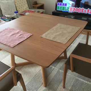オオツカカグ(大塚家具)の浜本工芸食卓テーブル(ダイニングテーブル)