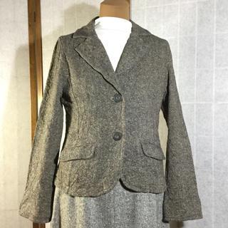 ナチュラルクチュール(natural couture)の【Natural Couture】ツイード テーラードジャケット 長袖(テーラードジャケット)