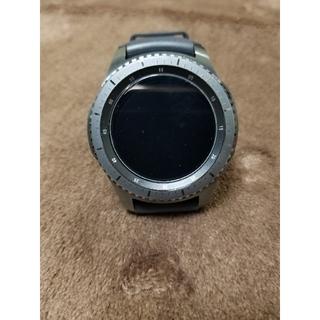 サムスン(SAMSUNG)のGalaxygearS3 Frontier 国内正規品(腕時計(デジタル))