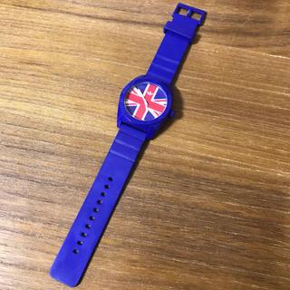 アディダス(adidas)のadidas 腕時計 イギリス ブルー(腕時計)