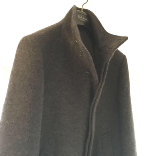 ムジルシリョウヒン(MUJI (無印良品))の無印 スタンドカラーハーフコート メンズ(ピーコート)