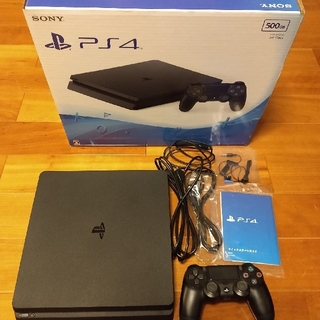 PlayStation4 - PlayStation4 ジェットブラック 500GB CUH-2000AB01
