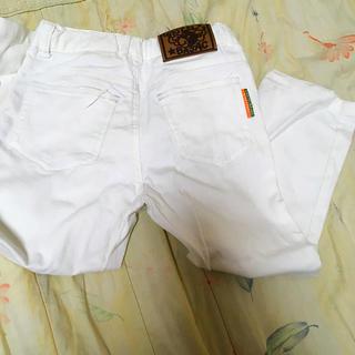 カステルバジャック(CASTELBAJAC)のホワイトパンツ(パンツ/スパッツ)