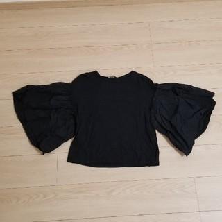 ザラ(ZARA)のZARA☆ボリュームスリーブТシャツ(Tシャツ(半袖/袖なし))