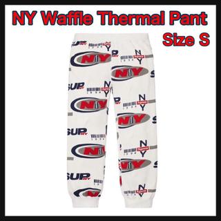 シュプリーム(Supreme)の【S】NY Waffle Thermal Pant(その他)