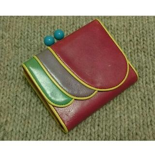 イーリーキシモト(ELEY KISHIMOTO)のELEY KISHIMOTO イーリーキシモト 財布 ウォレット がま口 二つ折(財布)