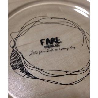 ドレスレイブ(DRESSLAVE)のドレスレイブ DREESLAVE ノベルティー お皿  食器 ガラストレー(ノベルティグッズ)