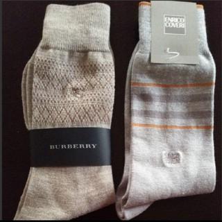 バーバリー(BURBERRY)のバーバリー  エンリココベリ メンズ靴下(ソックス)