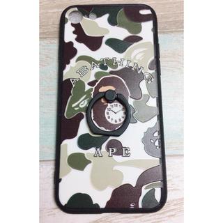 アベイシングエイプ(A BATHING APE)のiPhoneケース6,6s,7,8✧‧˚新品&送料無料(iPhoneケース)