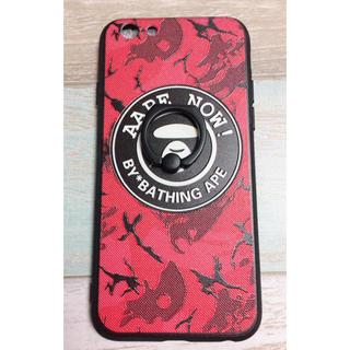 アベイシングエイプ(A BATHING APE)の【APE】iPhoneケース6,6s,7,8♡新品(iPhoneケース)