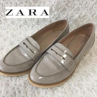 ザラ(ZARA)のZARA ザラ エナメルローファー(ローファー/革靴)