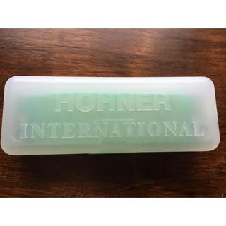 新品 HOHNER ホーナー カラーハープ 10穴 C調 グリーン(ハーモニカ/ブルースハープ)