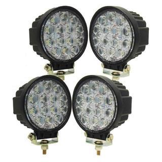 LED作業灯 42w 広角タイプ、3300Lm LEDワークライト  (蛍光灯/電球)