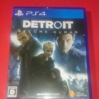 PlayStation4 - デトロイトビカムヒューマン