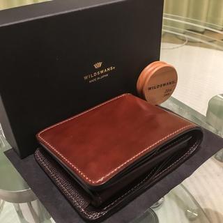 ガンゾ(GANZO)のWILDSWANS GROUNDER シェルコードバン(折り財布)