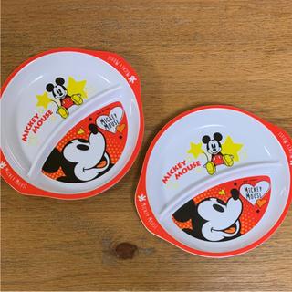 ミッキーマウス(ミッキーマウス)のランチプレート ディズニー ミッキー(プレート/茶碗)