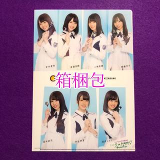 箱梱包 クリアファイル けやき坂46 ここいち de HAPPY!キャンペーン (女性タレント)