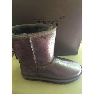 アグ(UGG)の防水版 オーストラリア OZWEAR UGG美品ムートンブーツ  (レインブーツ/長靴)
