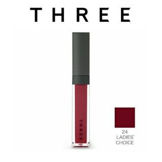 スリー(THREE)のTHREE/スリー☆シマリング リップ ジャム 24 LADIES CHOICE(リップグロス)