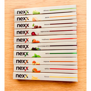 エビータ(EVITA)の使い捨て電子タバコ【NEXX最新モデル】お好きなフレーバー5本選んでください☆(タバコグッズ)